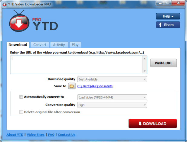 YTD-Video-Downloader-Pro-Serial-Key